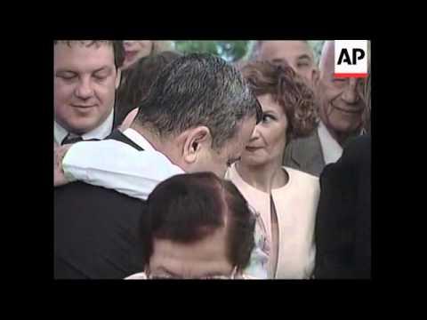 ISRAEL: OUTGOING PM NETANYAHU HANDS OVER OFFICE TO EHUD BARAK