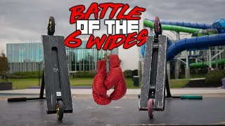BATTLE OF THE 6 WIDES !