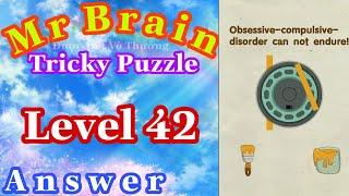 《Mr Brain Level 42》Update Answers Walkthrough Solution 2020 / Cập Nhật Đáp Án Game Mr Brain Level 42