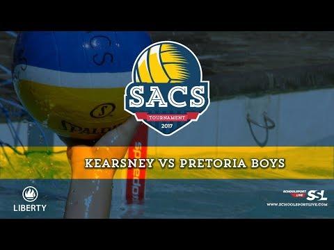 Kearsney College vs Pretoria Boys: SACS Waterpolo Tournament, Sunday 1st October 2017, Day 2