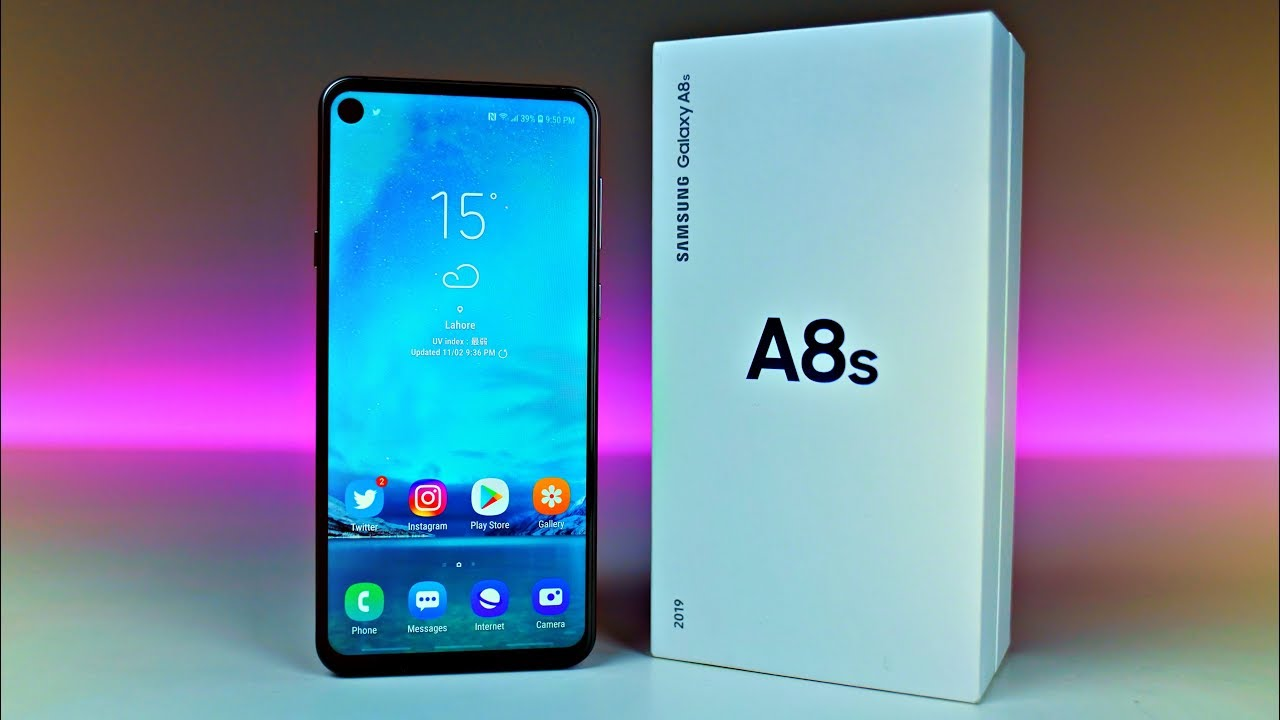 Samsung Galaxy A8s Quot Infinity O Quot Unboxing Amp First Look