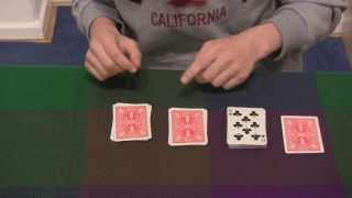 Extrem guter Kartentrick mit Erklärung [ für Anfänger ] ᴴᴰ