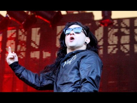 Skrillex - Bangarang - live at Eden Sessions 2014