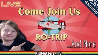 Ro-Trip und mehr! Kommen Sie zu uns! Roblox Spiele | Gaming-Livestream [KM+Gaming S2E62]