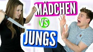 MÄDCHEN VS JUNGS mit Joeys Jungle | Julia Beautx