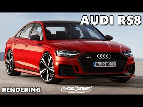 2019 Audi S8 Rs8 A8 Avant Renderings