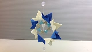 Urban Theme Colorful Projects Origami Ornament