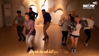 [Vietsub]Trouble Maker - Now (Choreography Practice Video) {BEASTeam}