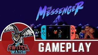The Messenger Nintendo Switch Gameplay - Ninja Gaiden Vibes