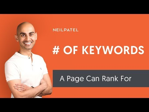 How Many Keywords Can A Single Page Rank For? (And How To Do Keyword Research)