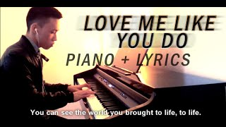 ellie goulding love me like you do piano cover lyrics   fifty shades of grey soundtrack