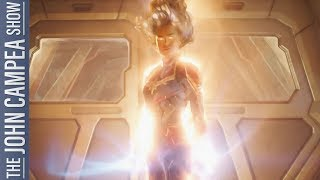 Captain Marvel Trailer Has Hit: What Did You Think - The John Campea Show