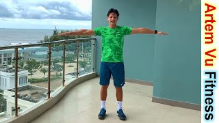 постер к видео 5 Minute Home Workout to Get Slim Arms In No Time Every Day Workout #artemfitness