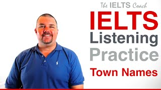 IELTS Listening Practice - Spelling Test - Town Names