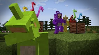 Tinky-Winky dances to Despacito (Minecraft machinima)