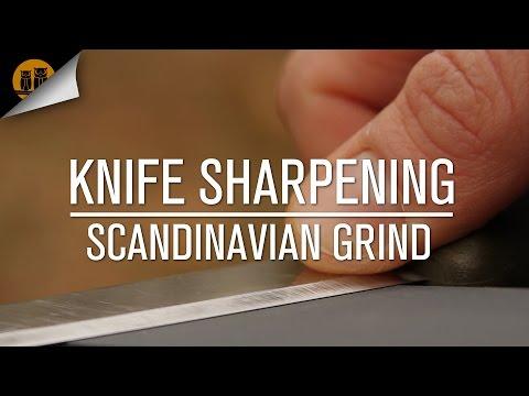 Knife Sharpening Basics [Scandinavian Grind]