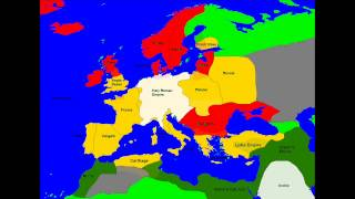 Alternate History of Europe part 3 ( dark Ages )