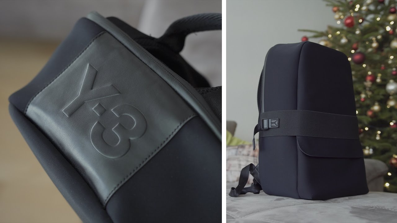 6c73735fc3a9 DER BESTE RUCKSACK! Y-3 BACKPACK REVIEW - ili - YouTube