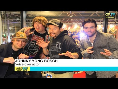 [INTERVIEW] Johnny Yong Bosch at Dutch Comic Con 2016