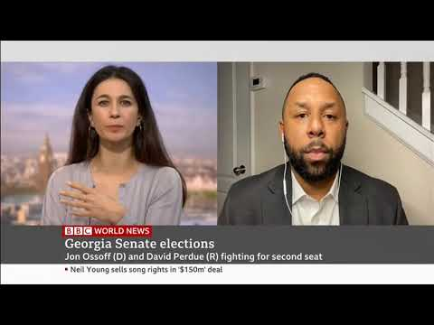 Matt Stevens Discusses the Georgia Democratic Senate Runoff Victory on BBC World News (6 Jan 2021)