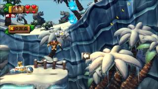 Donkey Kong Country: Tropical Freeze - 100% Walkthrough - 6-1 Homecoming Hijinx (Puzzle and KONG)