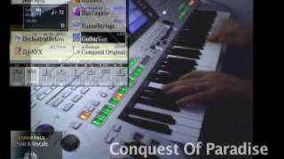 Conquest Of Paradise (Historical Version) • Yamaha Tyros 3 Demo • PREMIUM Voice Choir&Vocals