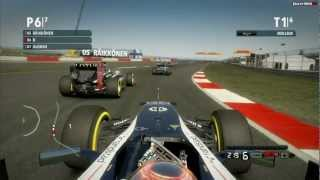 "F1 2012 ""Xbox 360 Gameplay"" Champions Mode - Ultimate Challenge"