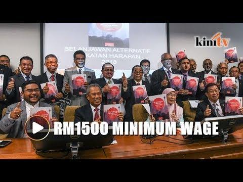 PH proposes RM1,500 minimum wage in alternative budget
