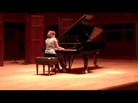 University of Indianapolis Chamber Music Institute Solo Recital 6/26/12