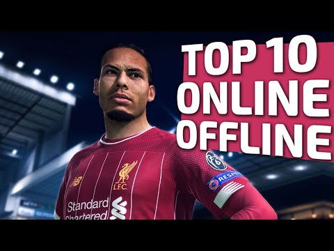 Top 10 Best Football Games On Android - IOS (Offline/Online With Size)