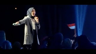 "Gambar cover TERBARU ~ Nissa Sabyan Gambus ""Konser Amal"" Doa & Cinta Lombok ★ Ahmad Ya Habibi, Ya Habibal Qolbi"