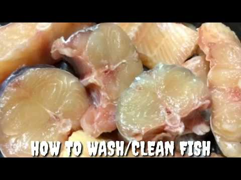 How To Wash/clean Fish Before Cooking | How To Get Rid Of Fishy Odor Before Cooking