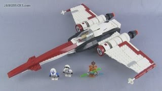 LEGO Star Wars Z-95 Headhunter set 75004 Review!