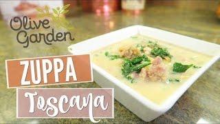Copycat Olive Garden Zuppa Toscana  Vlogtober Day 15