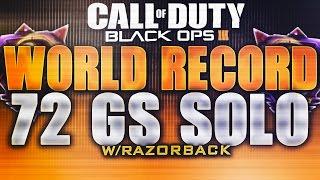 *WORLD RECORD* 72 GS SOLO ON METRO !