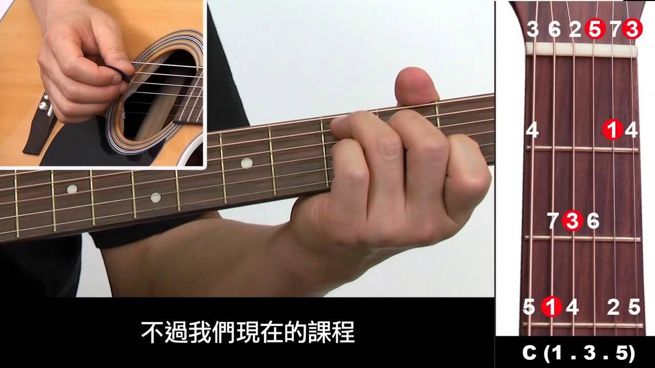 吉他入門免費教學7:C大三和弦 - YouTube