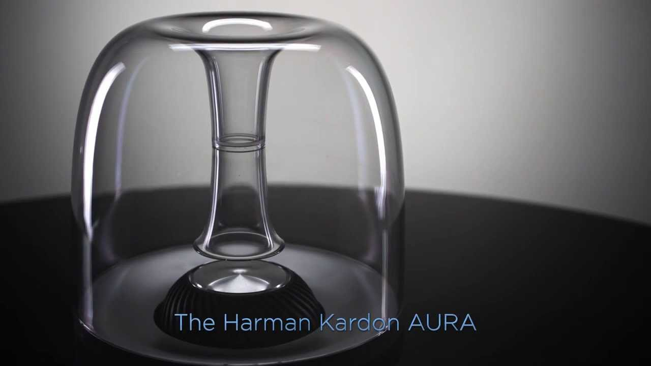 the harman kardon aura wireless speaker system youtube. Black Bedroom Furniture Sets. Home Design Ideas