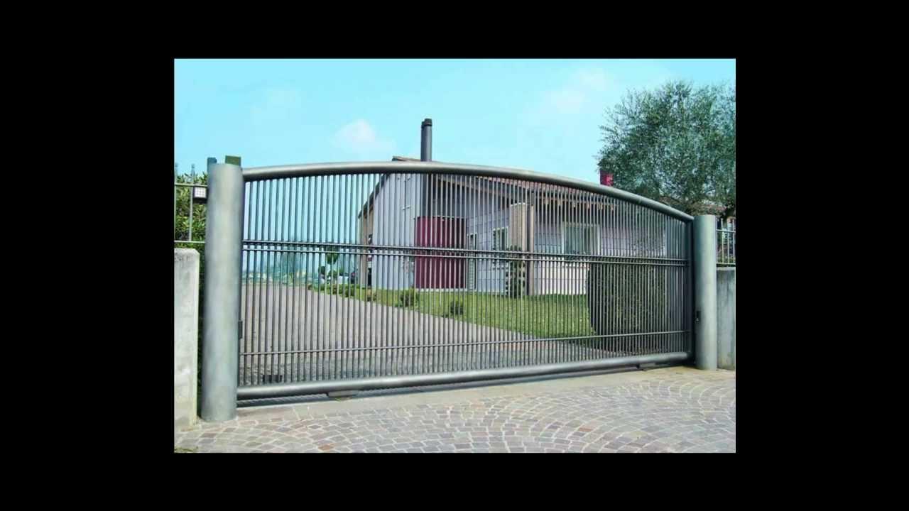 Cancello In Ferro Moderno.Cancelli Moderni In Ferro Treviso Padova Vicenza Venezia