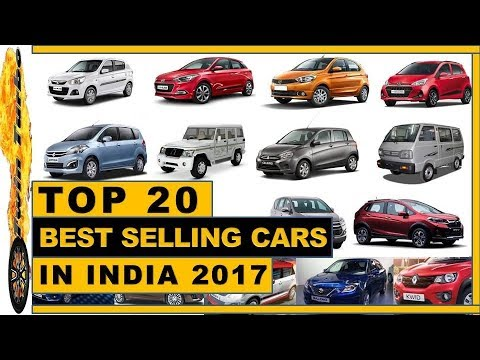 TOP 20 BEST SELLING CARS IN INDIA | MOST SELLING CARS IN INDIA | TOP SELLING CARS IN INDIA 2017