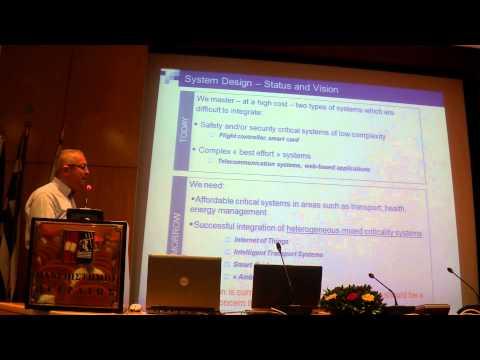 IISA 2013: Distinguished Keynote Speaker Joseph Sifakis