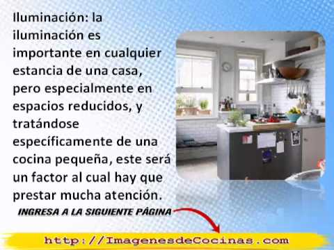 Decoraci n para cocinas peque as como decorar una cocina for Como decorar una cocina