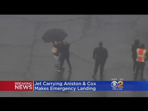 Celebrity Jet Makes Emergency Landing