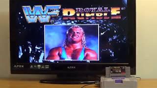 WWF Royal Rumble (Super Nes gameplay) 12/9/18