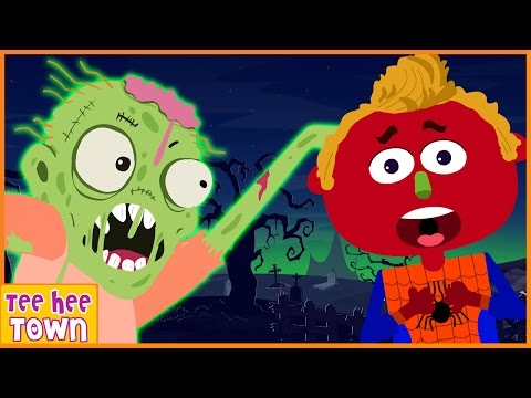 Haunted House | Halloween Songs for Children And Popular Nursery Rhymes Collection by Teehee Town