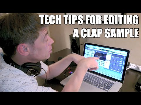 Drum Tech Tips For Editing A Clap Sample