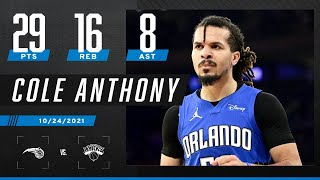 Cole Anthony has HUGE game in his hometown, gets W vs. Knicks 🏙