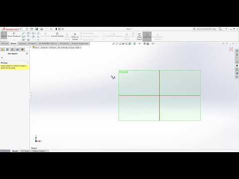 Solidworks Basic Tutorial - Information on Work-space