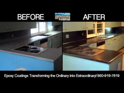 Epoxy concrete resurfacing Connecticut Epoxy Coating for countertops and floors
