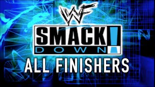 WWF Smackdown! ALL FINISHERS!