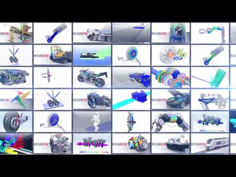 RecurDyn - Multi Flexible Body Dynamics software (Eng)